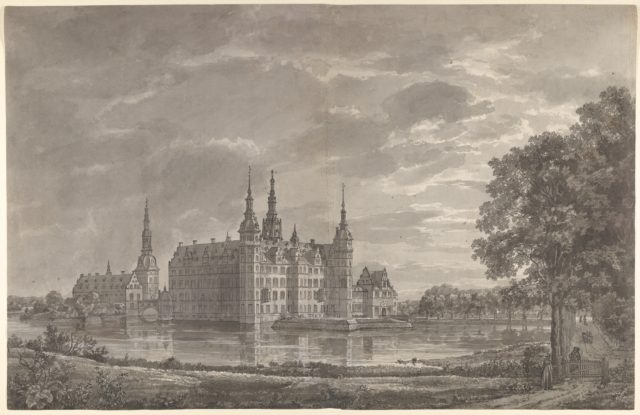 View of Frederiksborg Castle from the North-East
