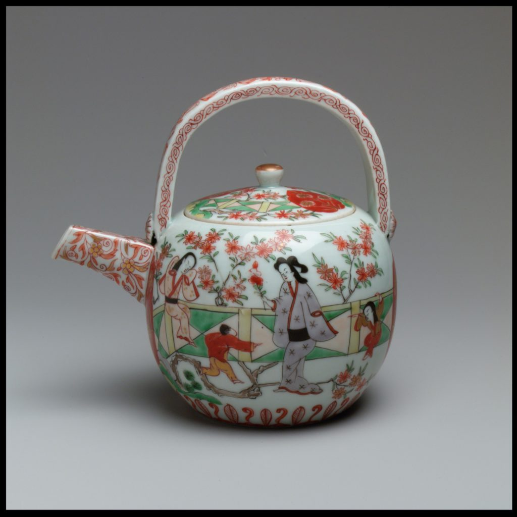 Wine pot and cover