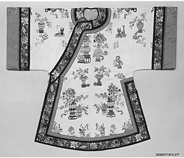 Woman's informal robe