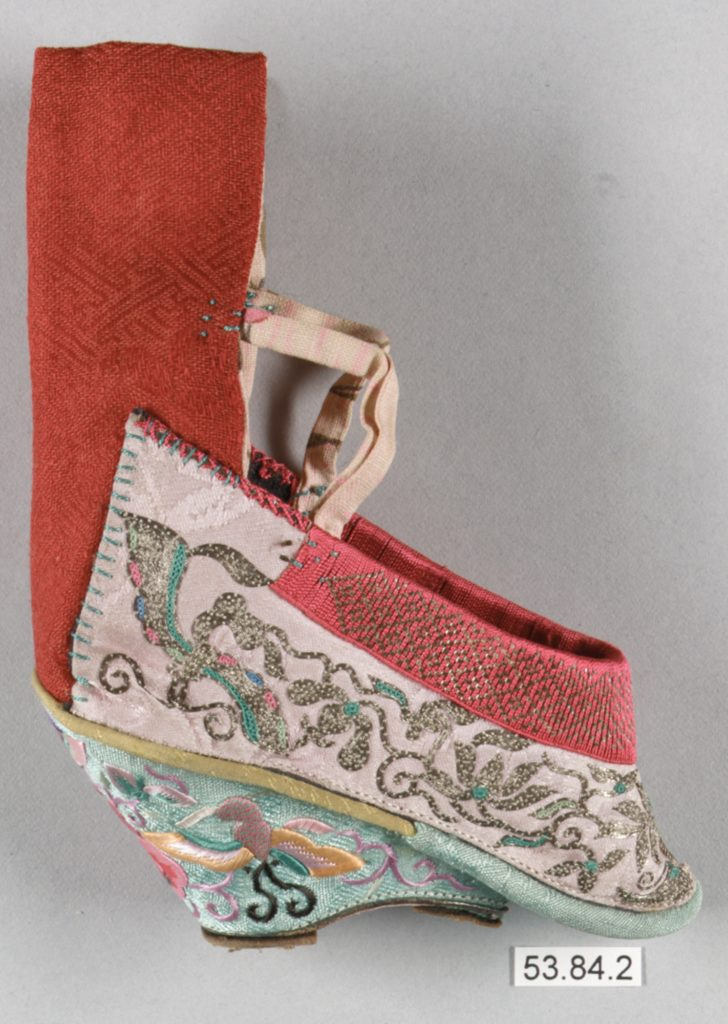 Woman's Shoe for Bound Feet