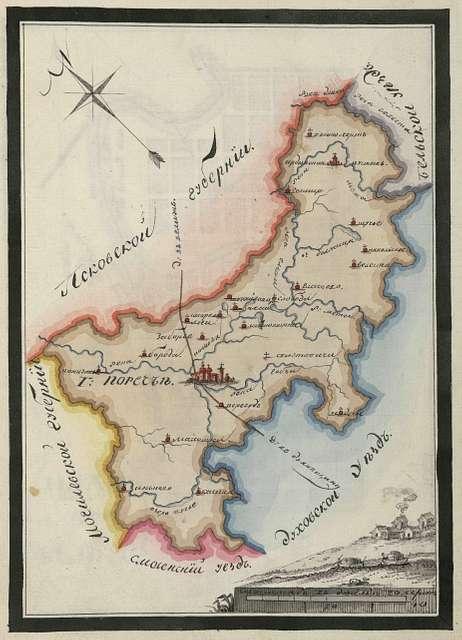County plan - Porechye.