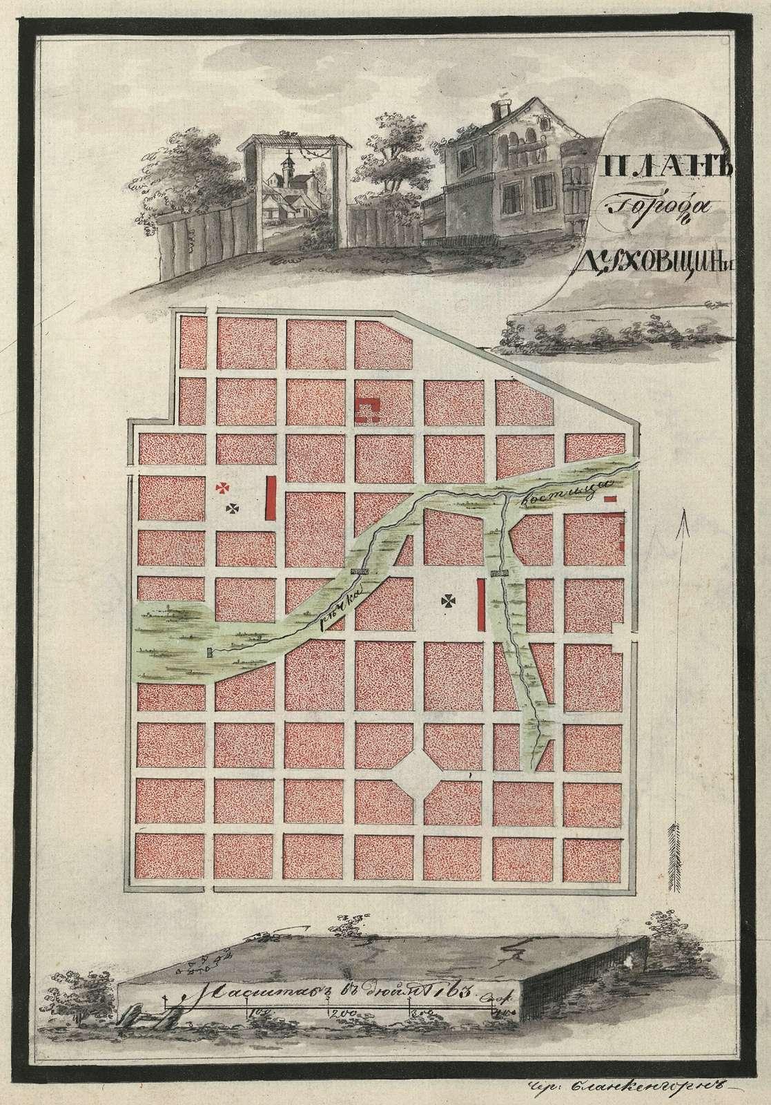Dukhovshchina map.
