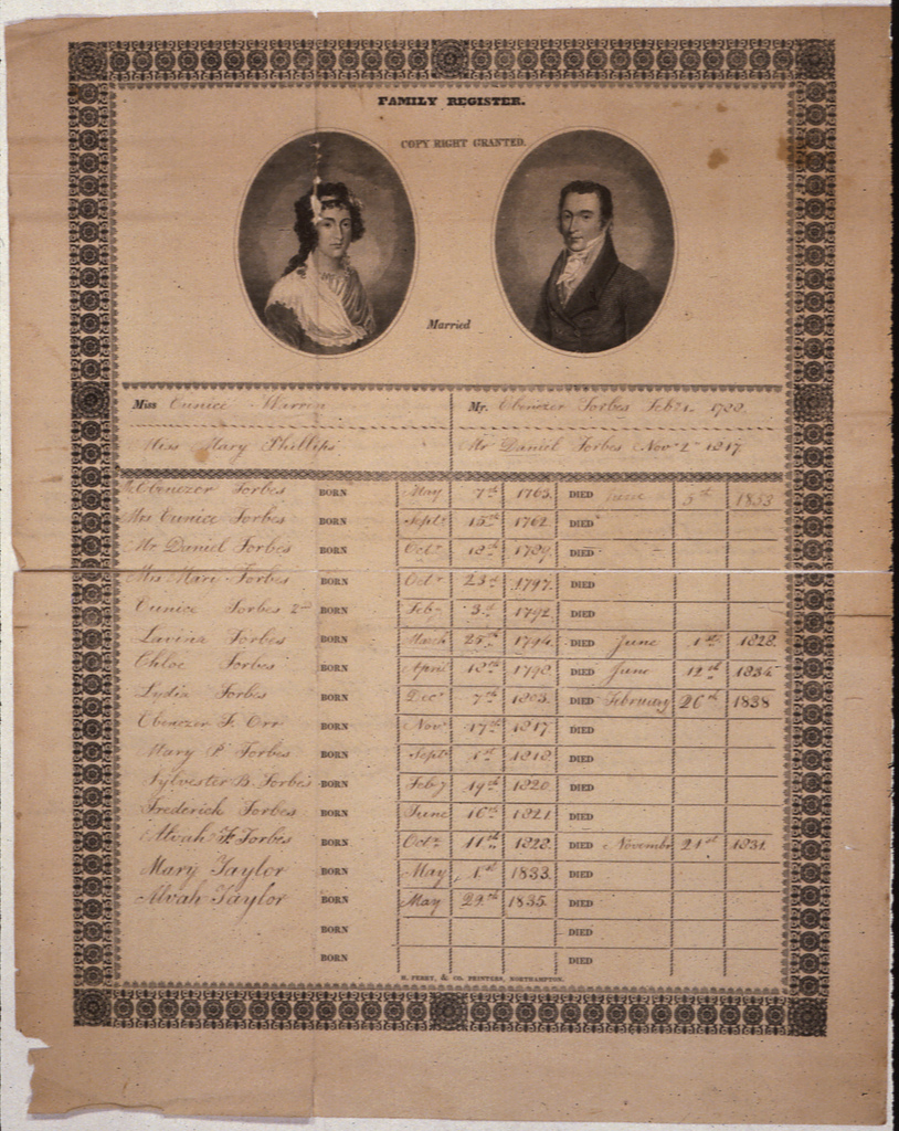 Ebenezer Forbes, Massachusetts