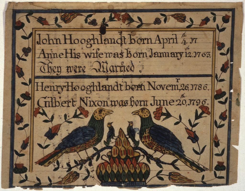 John Hoagland, New Jersey