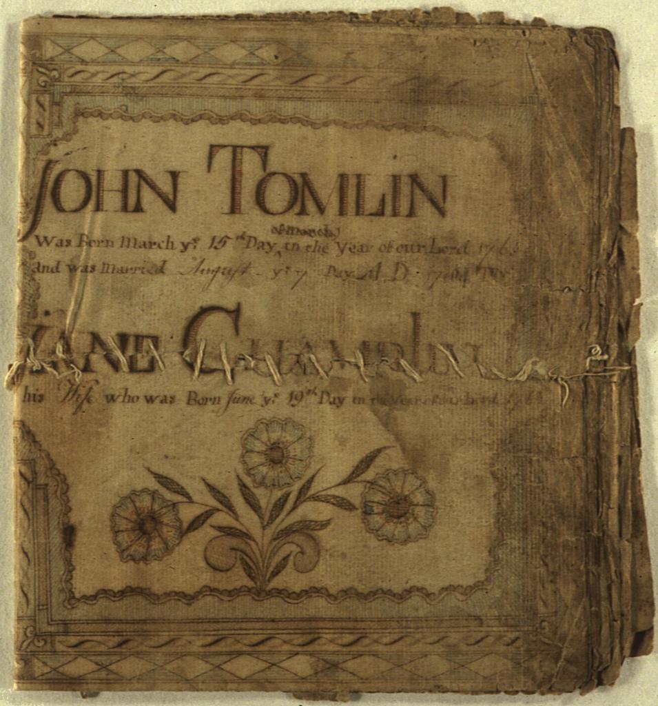 John Tomlin, Virginia