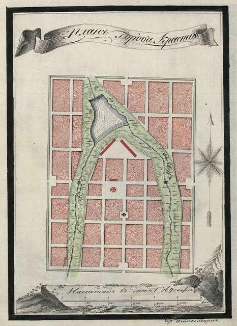 Krasny (Red) city plan.