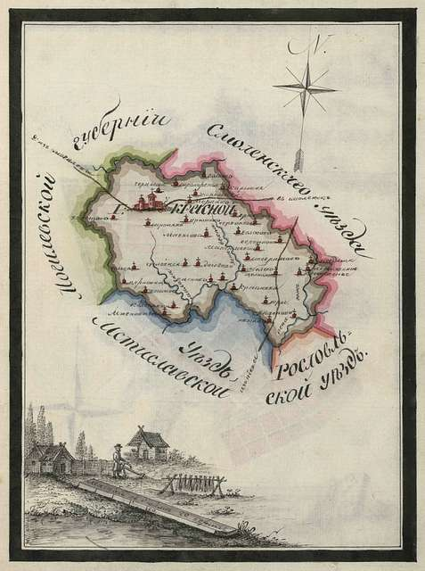 Krasny (Red) county plan.