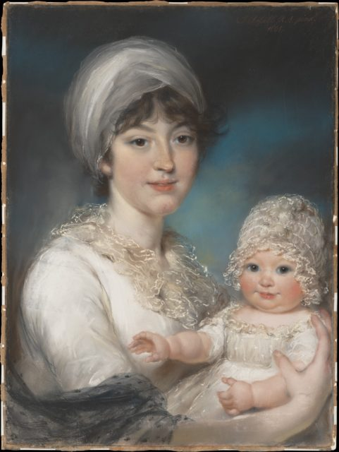 Mrs. Robert Shurlock (Henrietta Ann Jane Russell, 1775–1849) and Her Daughter Ann