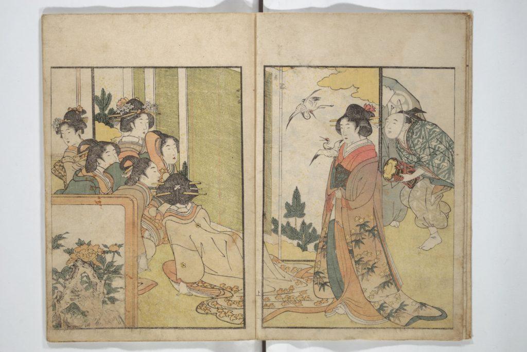 Picture Book on Flowers of the Four Seasons (Ehon shiki no hana)