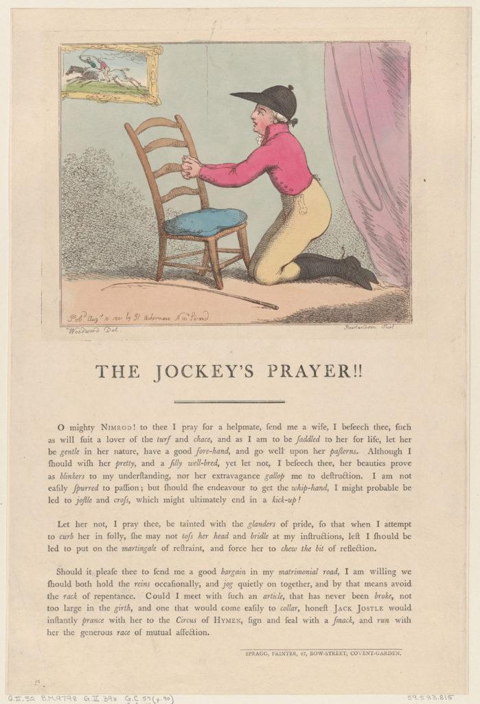 The Jockey's Prayer!!