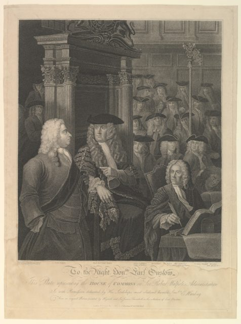 House of Commons - Sir Robert Walpole's Administration
