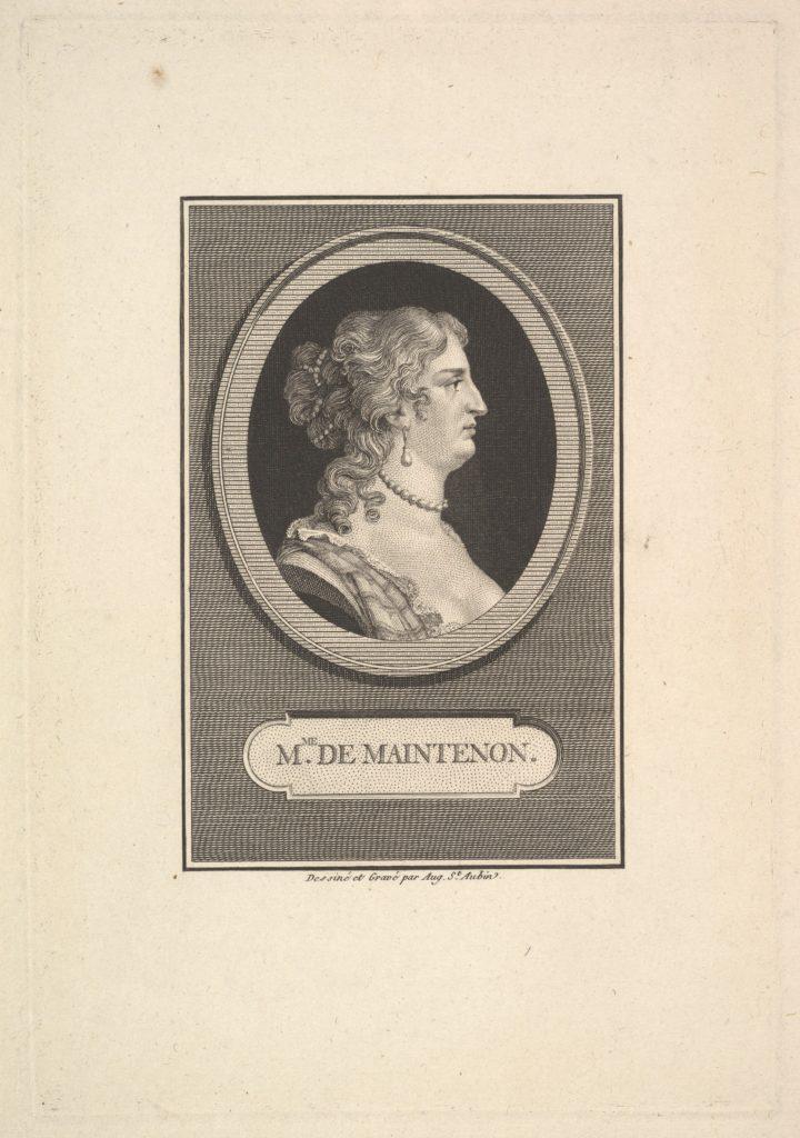 Portrait of Madame de Maintenon