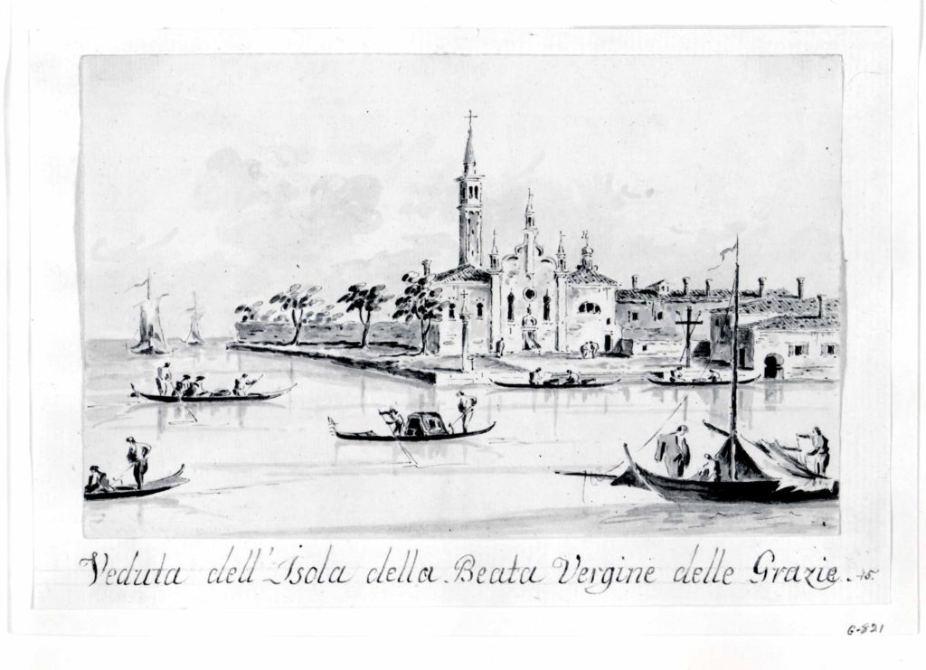 The Island of the Beata Vergine delle Grazie