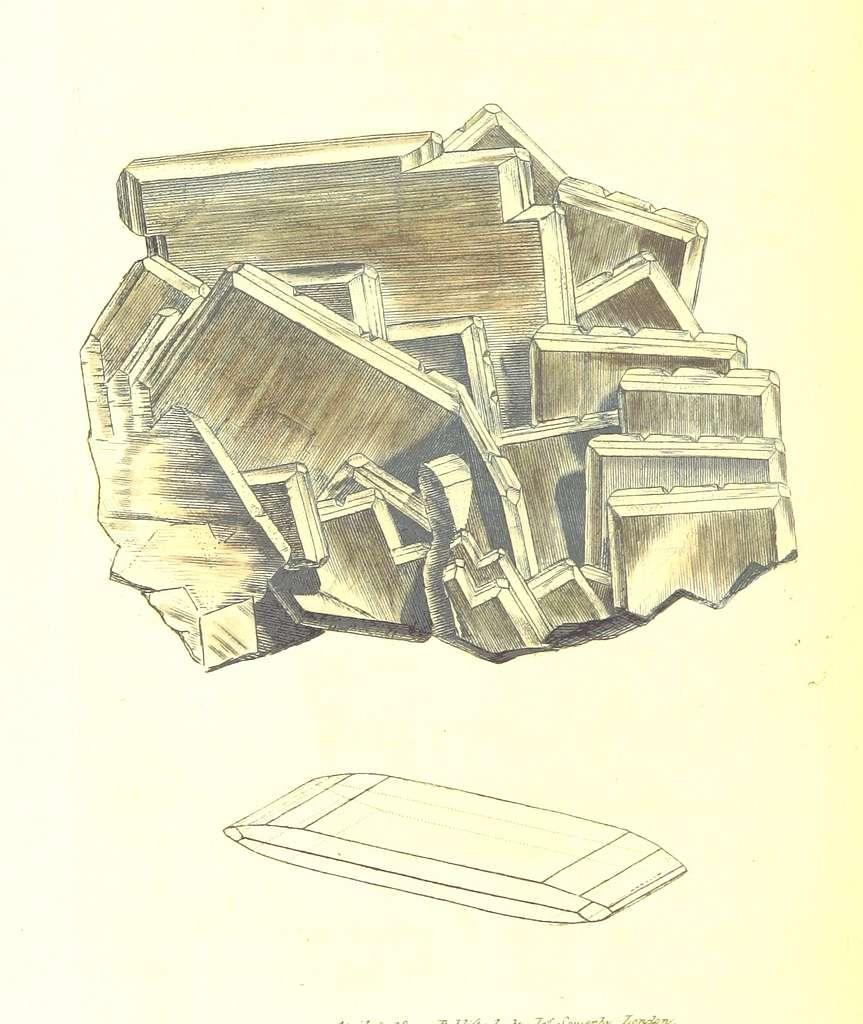 British Mineralogy Vol.1 (1804) p312 T72 BARYTES sulphata, var. primitiva