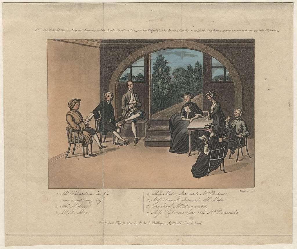 Samuel Richardson by Miss Highmore