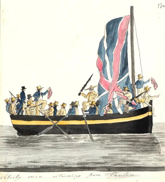 """Liberty men"" saabuvad Kantonist / ""Liberty men"" returning from Canton"