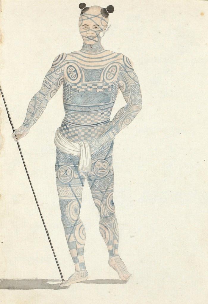 Nuku Hiva sõdalane / Nuku Hivan warrior