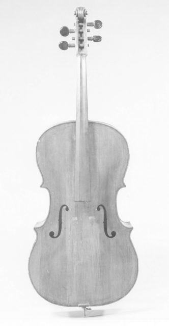 "Violoncello or ""Yankee Church Bass"""