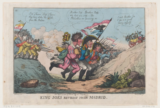 King Joe's Retreat From Madrid