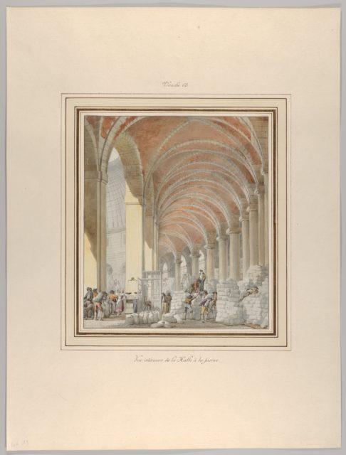 La Halle aux Blés, Interior View