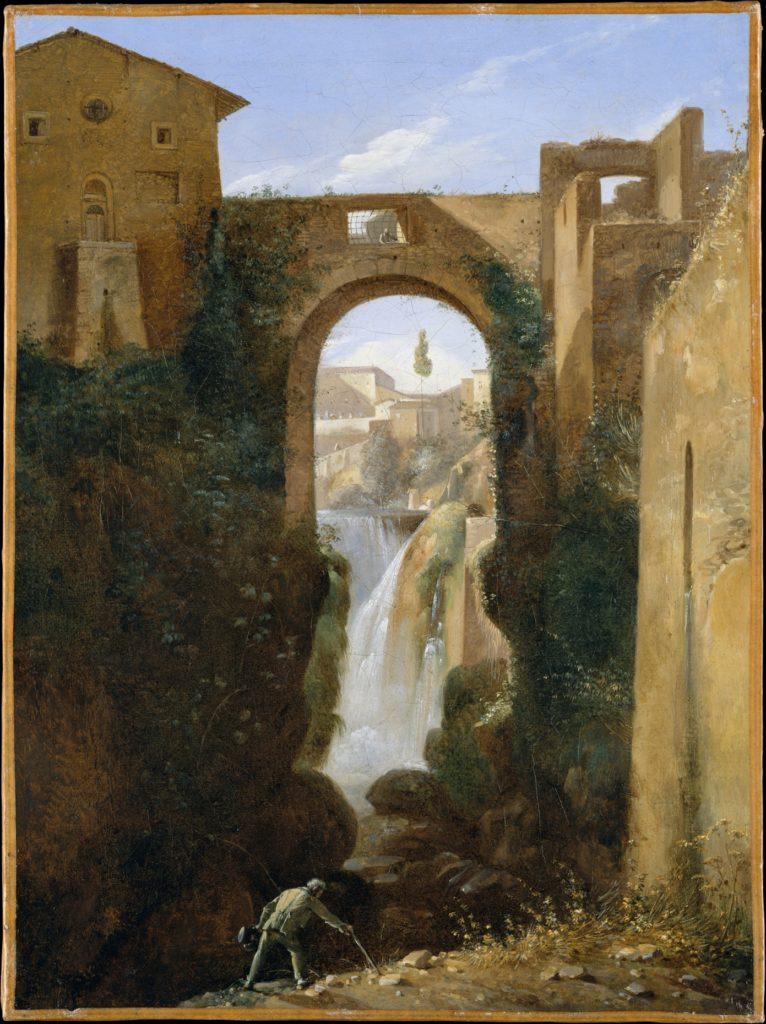 Ponte San Rocco and Waterfalls, Tivoli