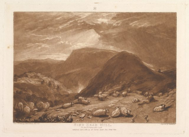 Hind Head Hill, on the Portsmouth Road (Liber Studiorum, part V, plate 25)