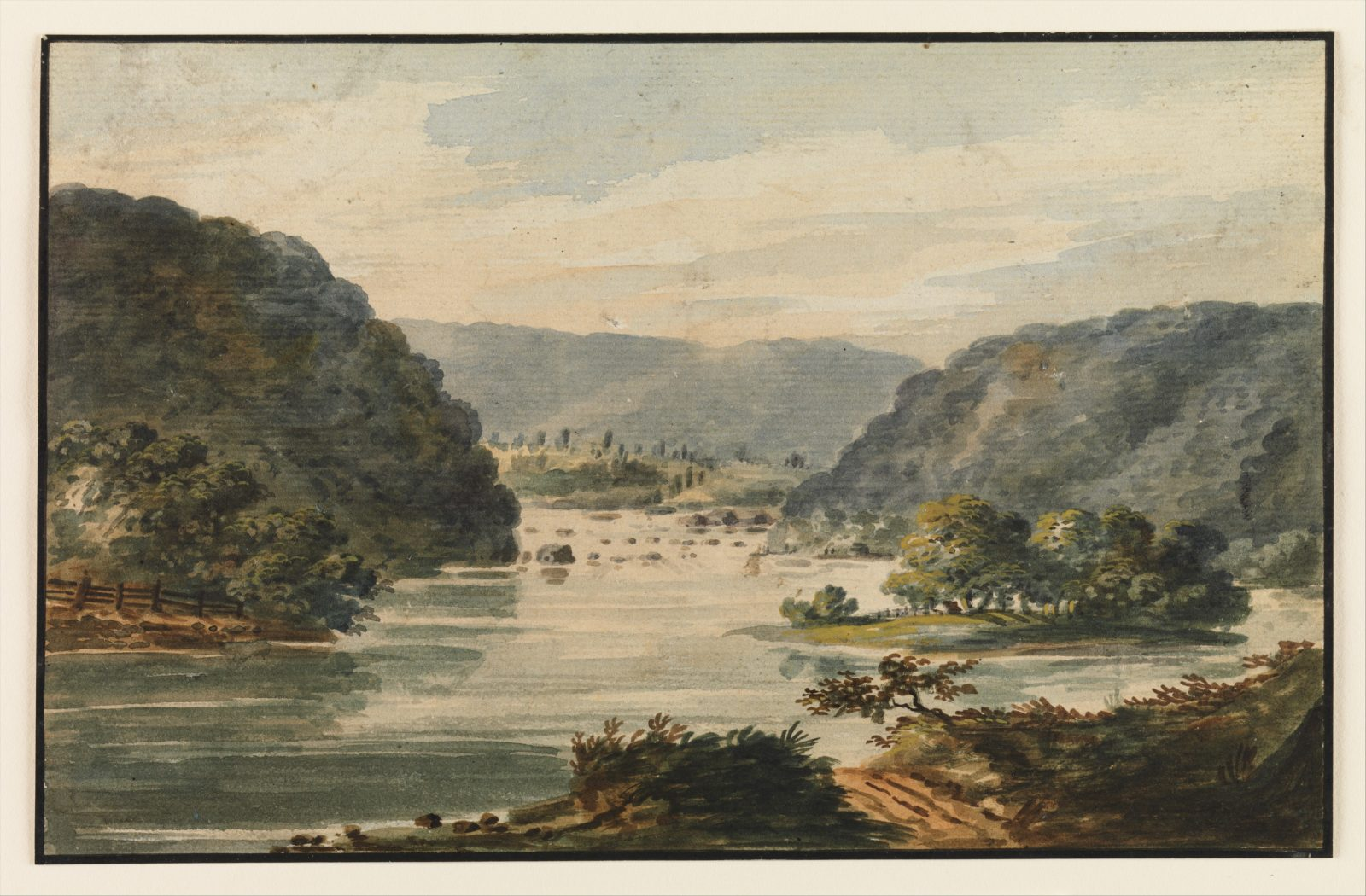 A View of the Potomac at Harpers Ferry