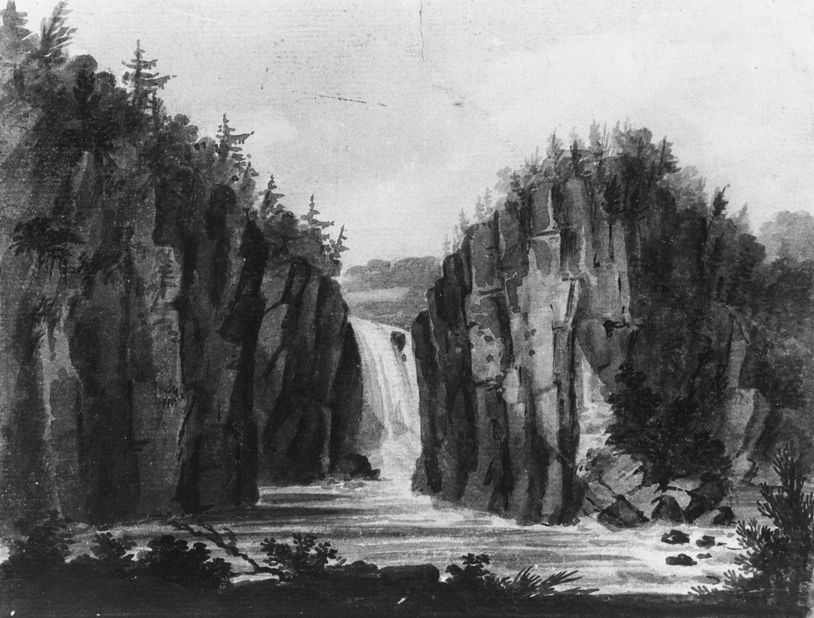 Passaic Falls, New Jersey (?)