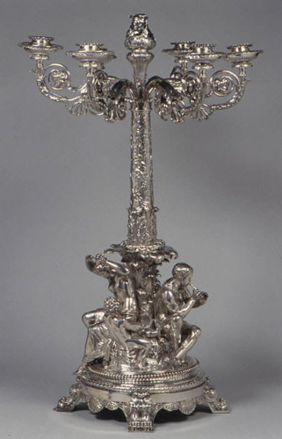Six-light candelabrum
