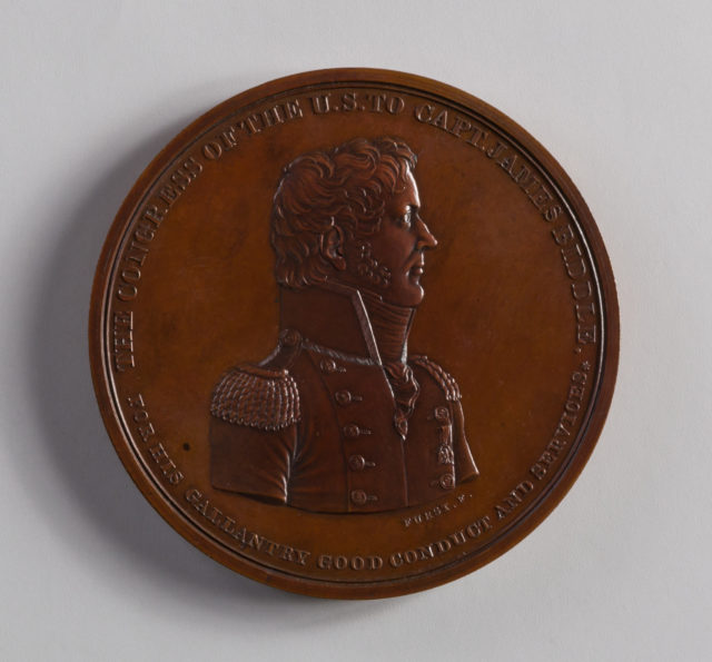 Medal of Captain James Biddle