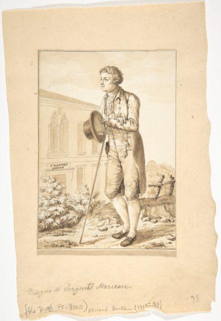 Portrait of Edmond Burke