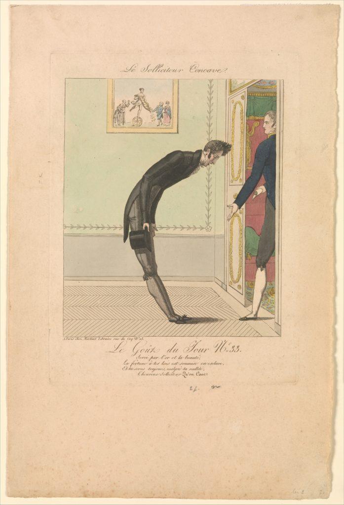 The Concave Petitioner: The Taste of the Day, no. 33 (Le Solliciteur Concave: Le Goût du Jour, No. 33)