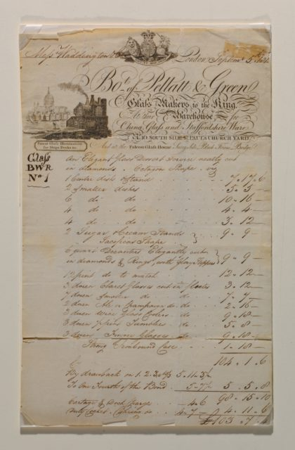 Original Bill of Sale, Pellatt and Green