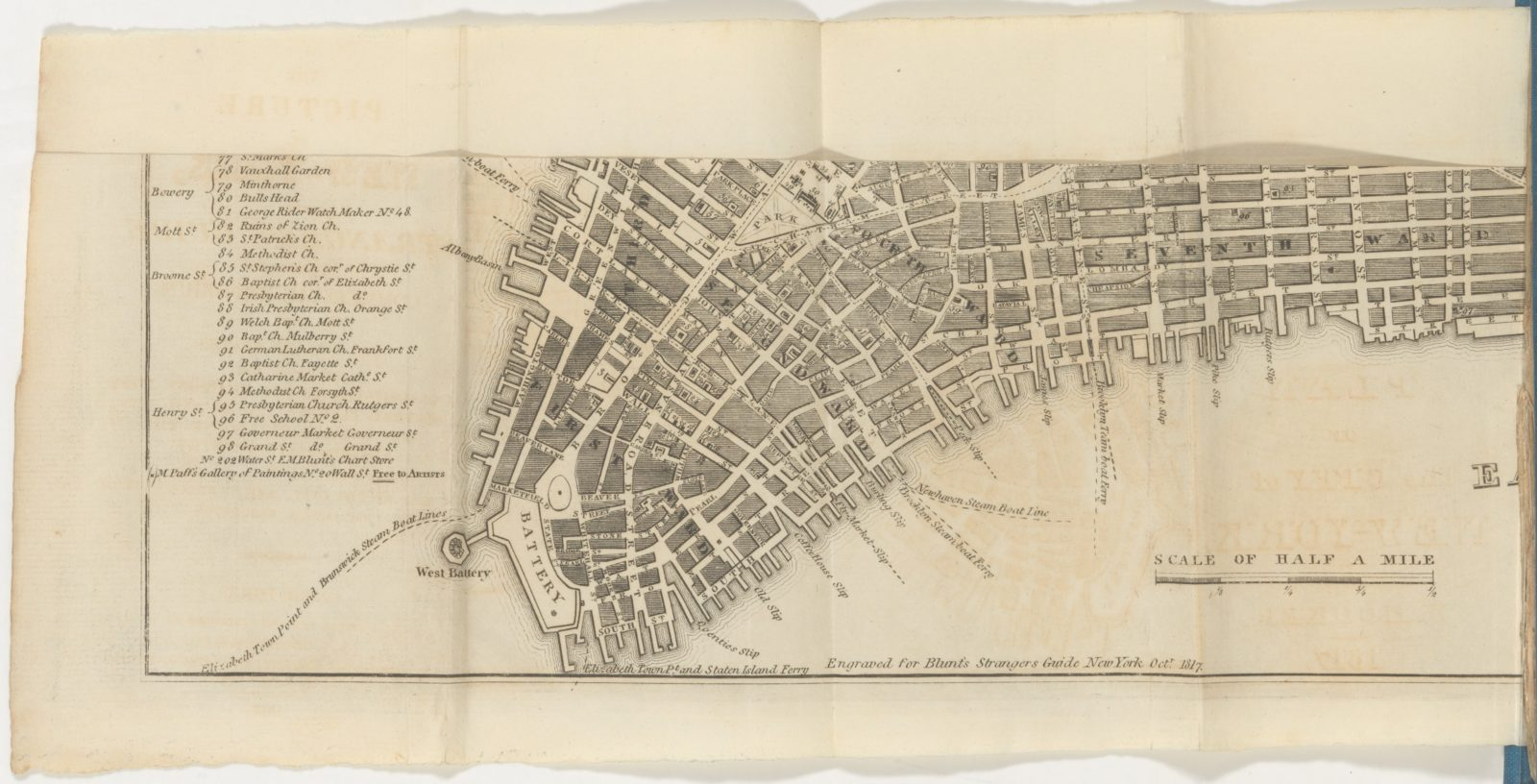 The Picture of New York, and Stranger's Guide through the Commercial Emporium of the United States.
