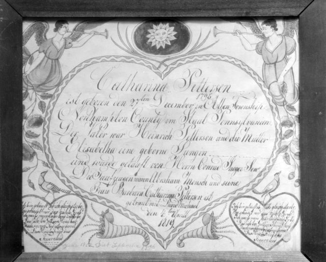 Birth, Baptismal, and Marriage Certificate