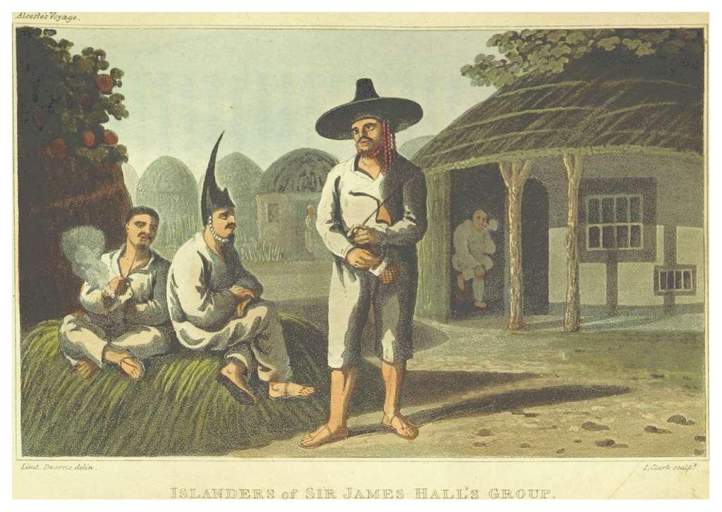 MACLEOD(1819) p063 ISLANDERS OF SIR JAMES HALL'S GROUP