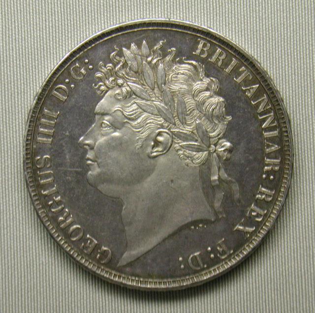 Proof crown of George IV