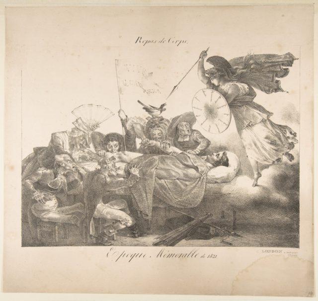 Repas de Corps. Epoque Mémorable de 1821