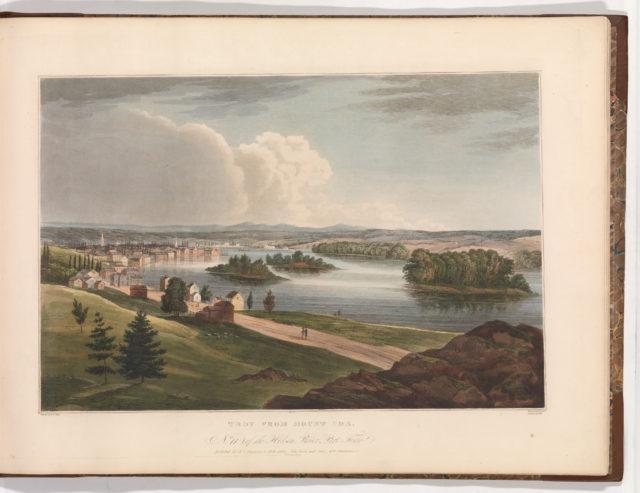 Troy from Mount Ida (No. 11 of The Hudson River Portfolio)