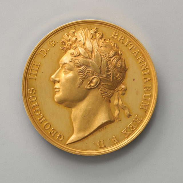 Unfinished Pattern for the Official Coronation Medal of George IV