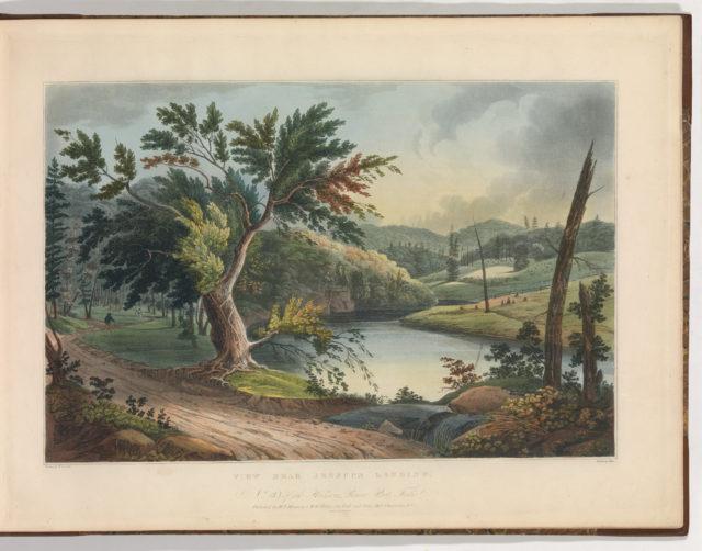 View Near Jessup's Landing (No. 3 of The Hudson River Portfolio)