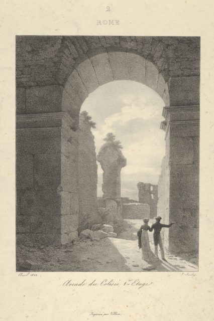 Archway of The Colosseum, First Level