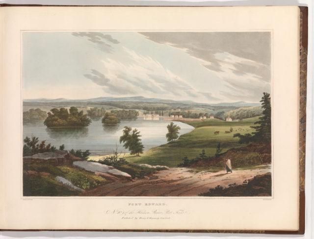Fort Edward (No. 10 of The Hudson River Portfolio)