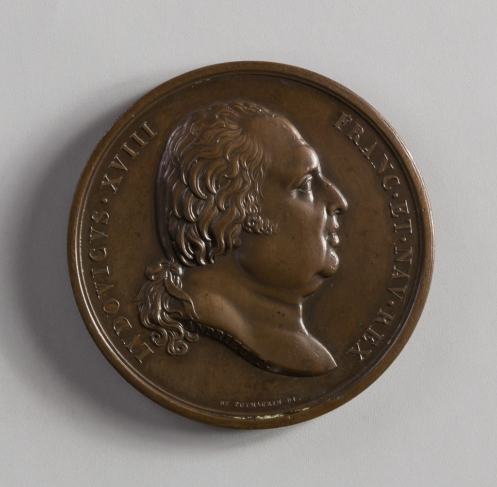 Medal Commemorating the Treaty of Commerce between France and the United States