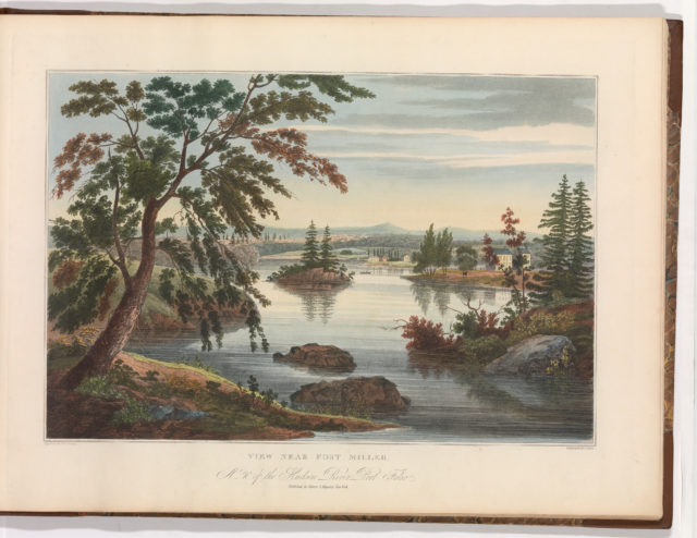 View Near Fort Miller (No. 10 (later changed to No. 9) of The Hudson River Portfolio)