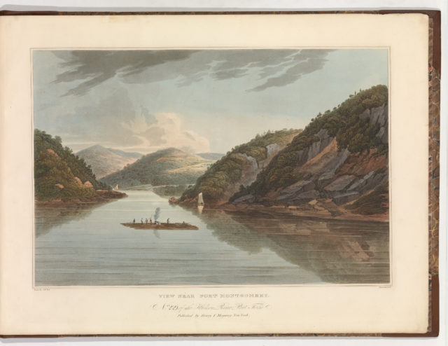 View Near Fort Montgomery (No. 22 (later changed to No. 18) of The Hudson River Portfolio)