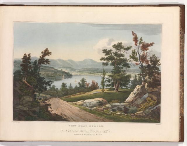 View Near Hudson (No. 15 (later No. 12) of The Hudson River Portfolio)
