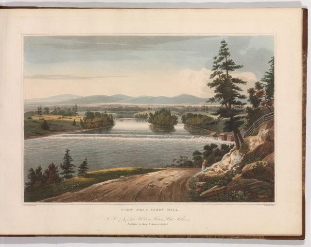 View Near Sandy Hill (No. 7 of The Hudson River Portfolio)