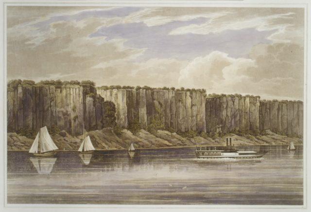 Palisades (No. 19, Hudson River Portfolio)