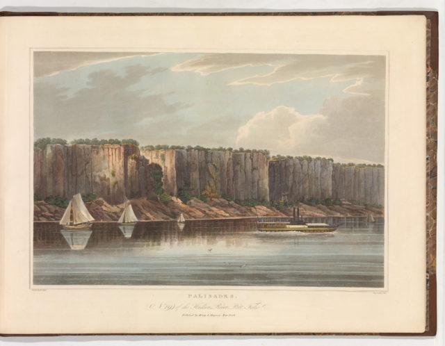 The Palisades (No. 19 of The Hudson River Portfolio)